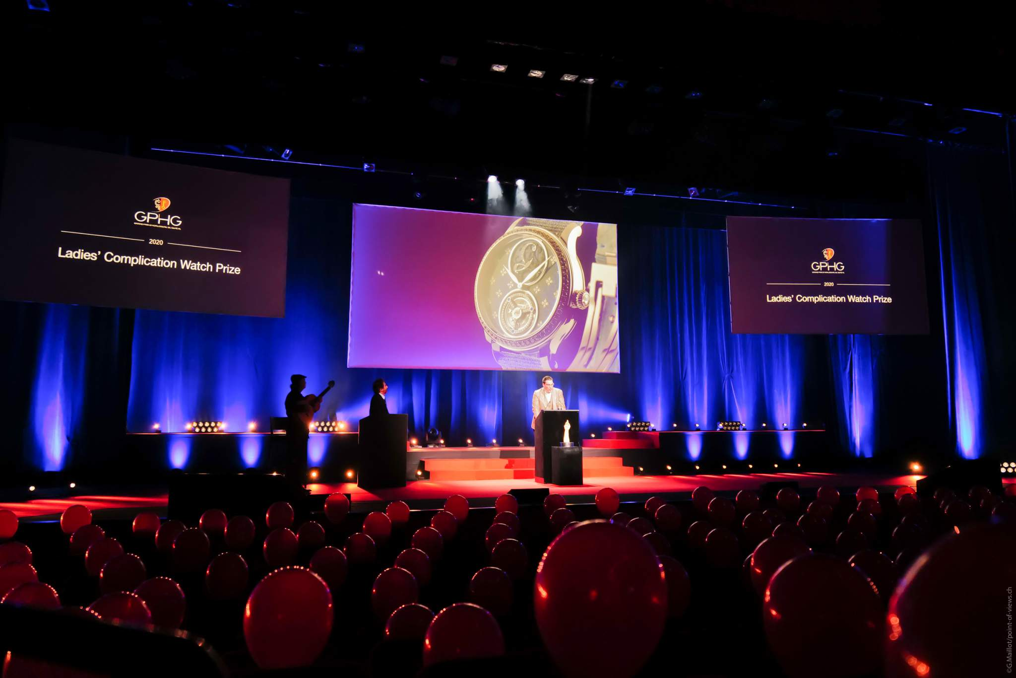 Patrick A. Ulm, CEO of Charles Girardier, winner of the Ladies' Complication Watch Prize 2020