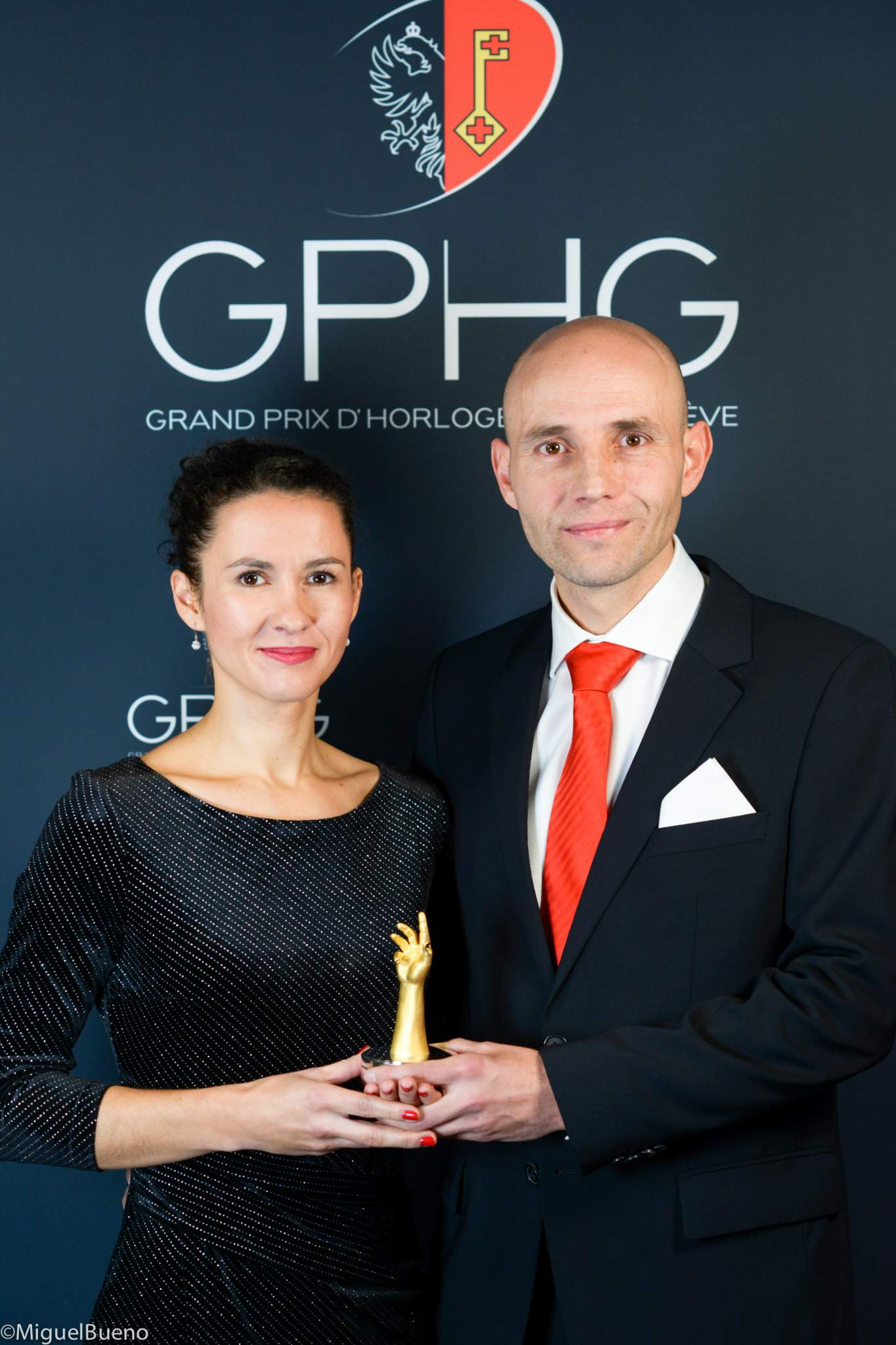 "Owner and watchmaker, winner of the ""Petite Aiguille"" Prize 2019"
