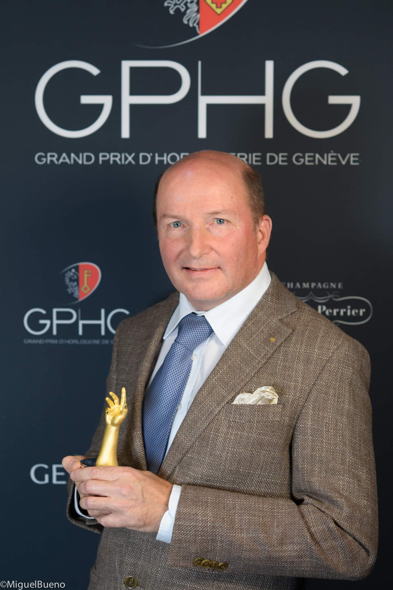 Owner and watchmaker, winner of the Men's Watch Prize 2019