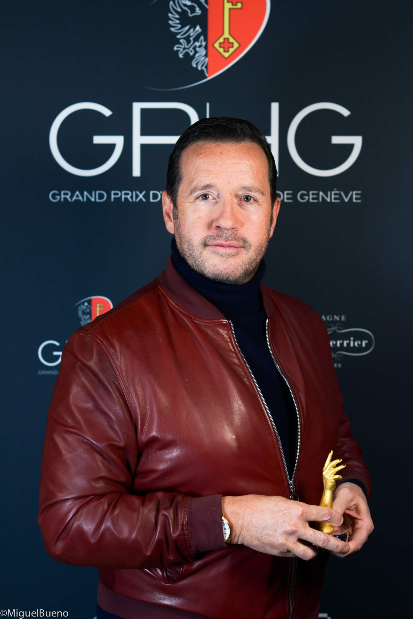 CEO of Audemars Piguet, winner of the Men's Complication Watch Prize