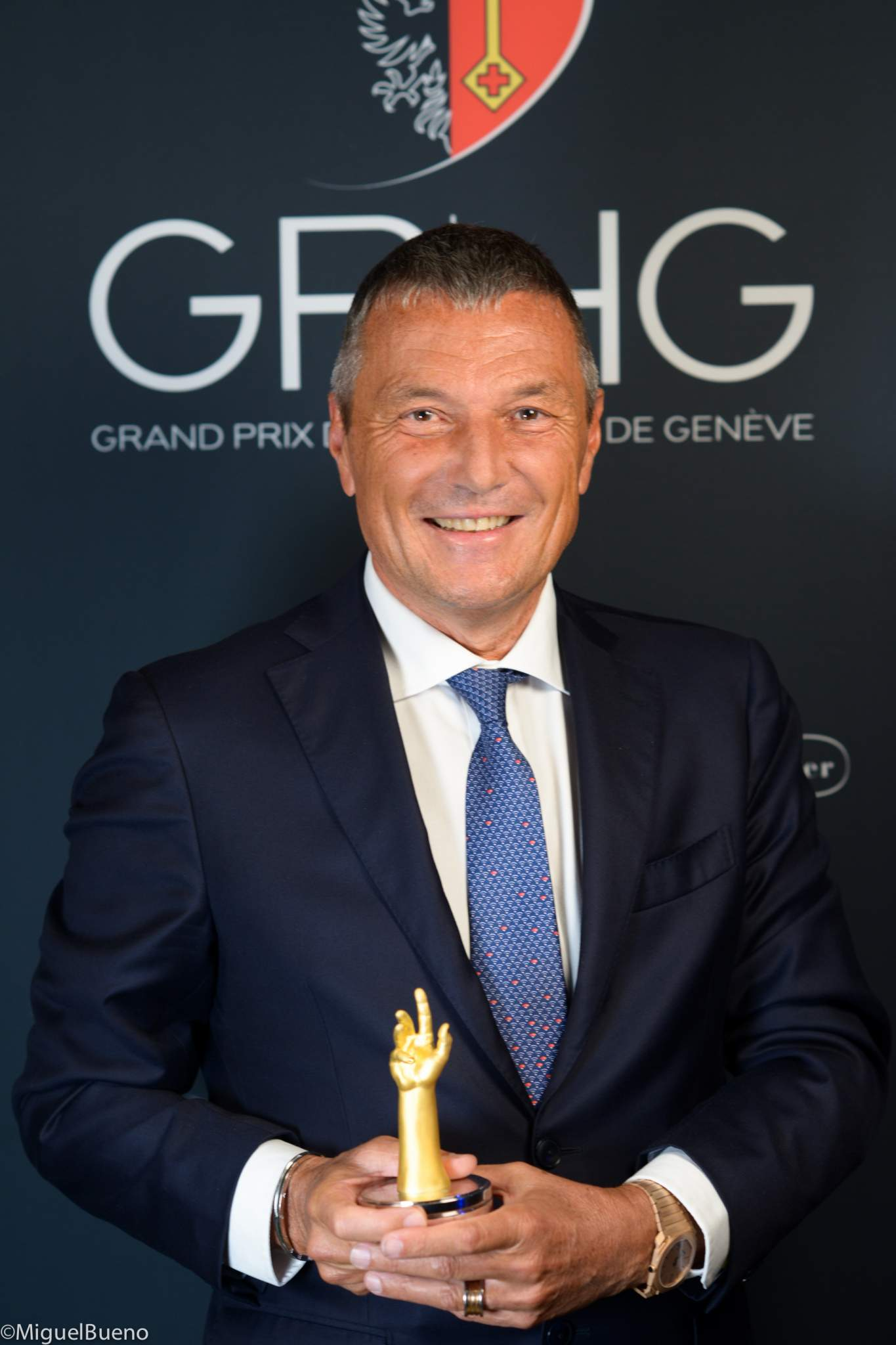 CEO of Bulgari, winner of the Chronograph Watch Prize 2019