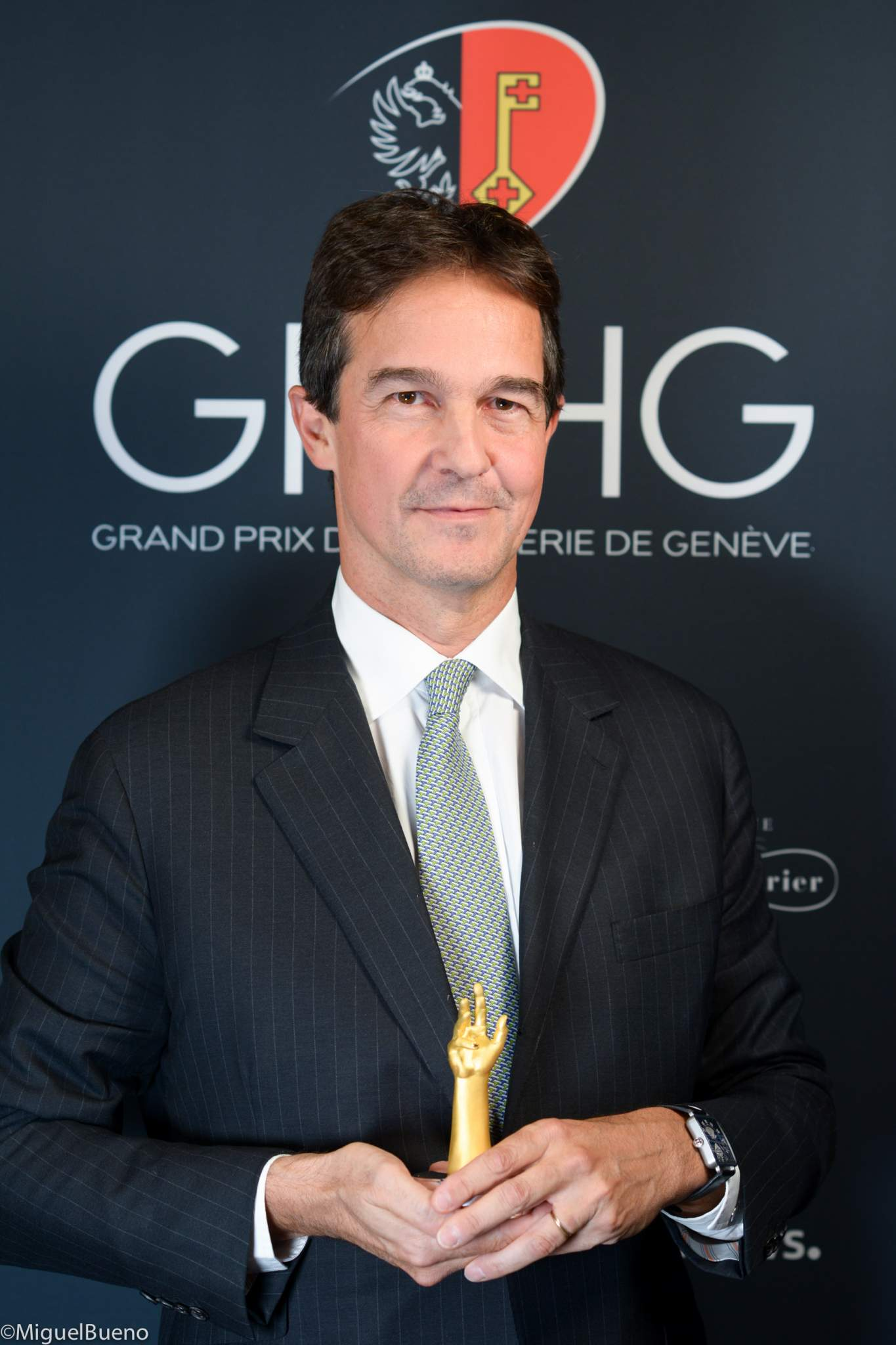 CEO of Hermès Horloger, winner of the Calendar and Astronomy Watch Prize 2019