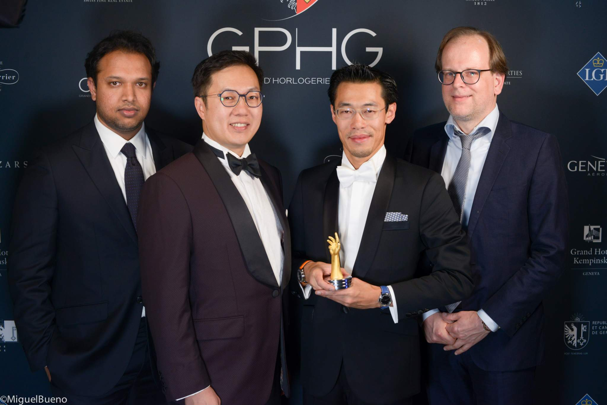 "Owner and watchmaker, winner of the ""Horological Revelation"" Prize 2019"