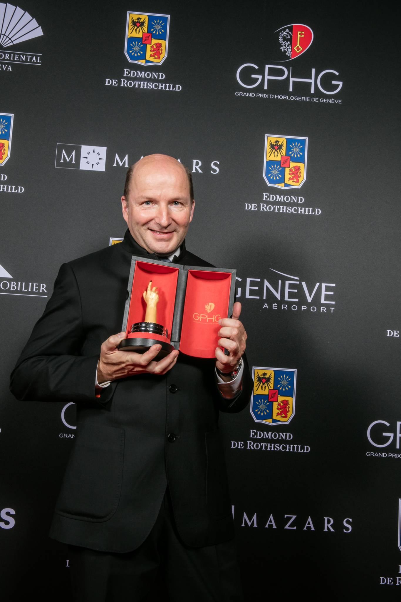 Kari Voutilainen (Fondateur de Voutilainen, marque lauréate du Prix de la Montre Homme 2015)