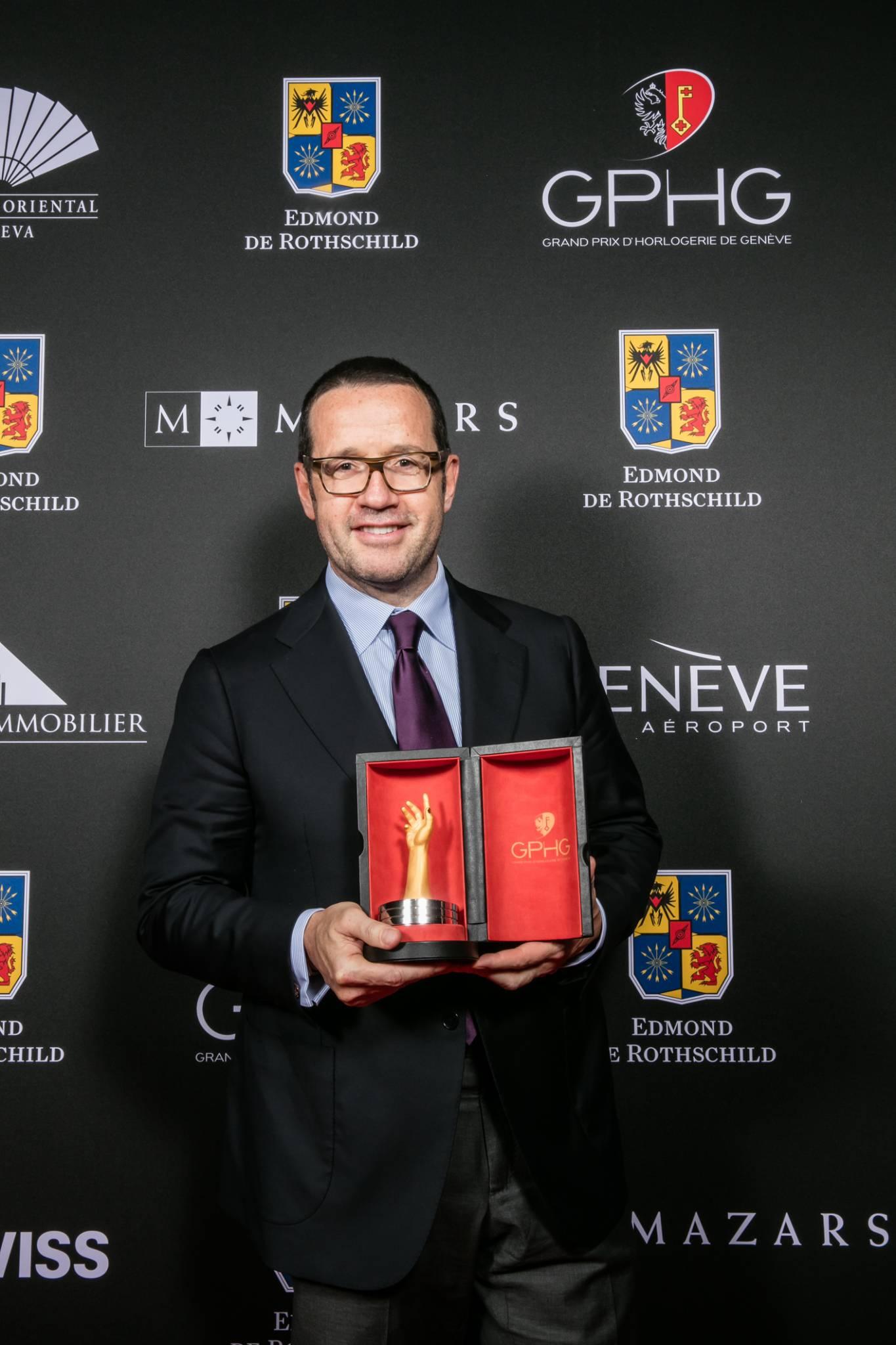 François Bennahmias (CEO de Audemars Piguet, marque lauréate du Prix de la Montre Joaillerie 2015)