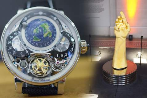 "Monochrome Watches - Bovet Wins the ""Aiguille d'Or"" at GPHG 2018 (and all the other prize-winners)"