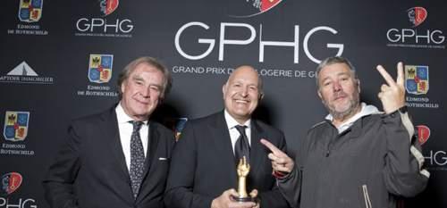 arcinfo.ch - La marque chaux-de-fonnière Girard-Perregaux remporte l'Aiguille d'or à Genève