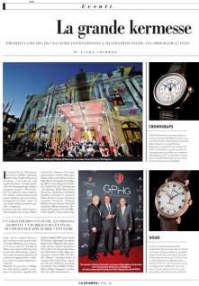 la stampa - la grande kermesse della bella orologeria